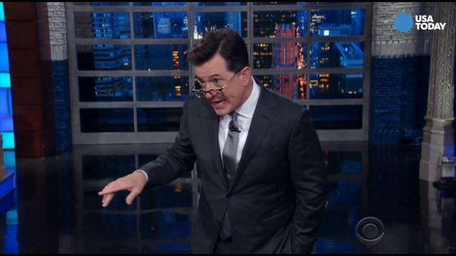 Colbert, Fallon, Meyers and Noah on new report that points to Russian election tampering. Take a look at our favorite jokes, then vote for yours at opinion.usatoday.com.
