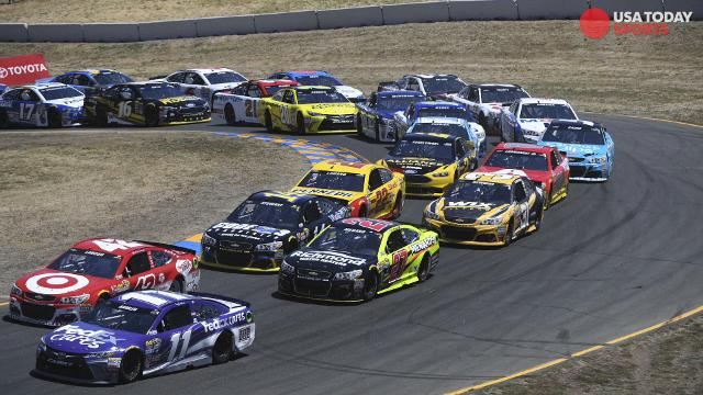 NASCAR starting lineup at California: Kyle Larson wins pole, as ...