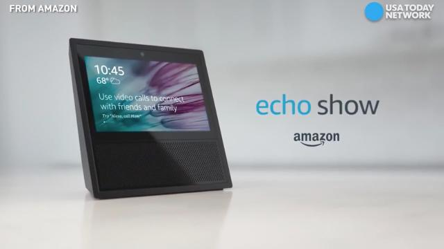 "The first Amazon Echo with a screen lets you ""drop in"" on loved one via video."