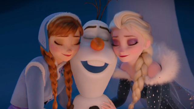 'Olaf's Frozen Adventure' brings holidays home