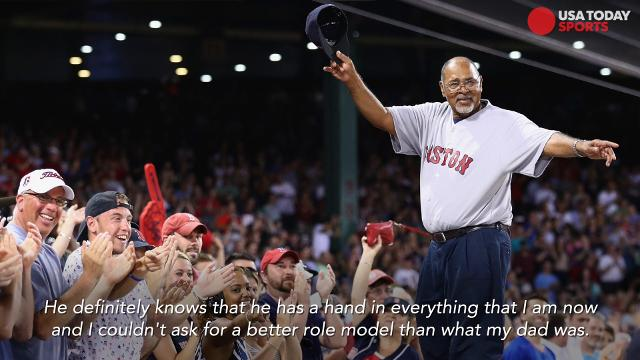 Aaron Judge of the New York Yankees, Mookie Betts of the Boston Red Sox and other MLB stars explain what makes Father's Day so special for baseball players.