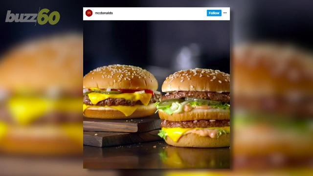 McDonald's has got the burger tote, the burger hat and the iPhone 7 burger phone case. Buzz60's Angeli Kakade has more.