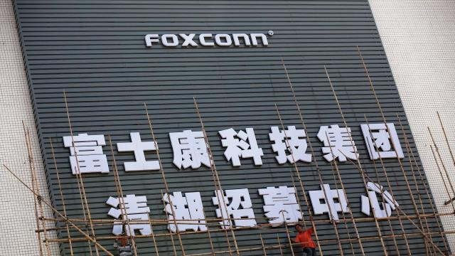 As other companies move manufacturing overseas, Foxconn is investing $10 billion in a U.S. plant.
