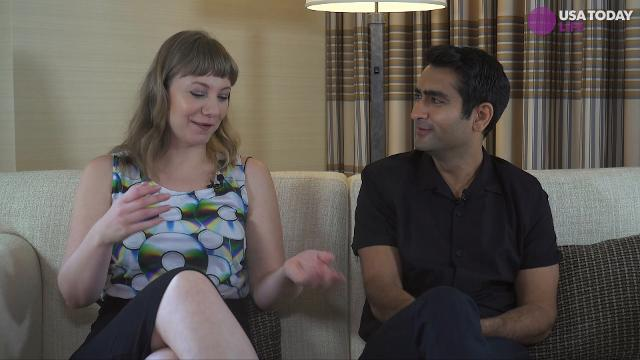 Writer Emily V. Gordon and actor/comedian Kumail Nanjiani discuss their first date and what makes them laugh about each other.