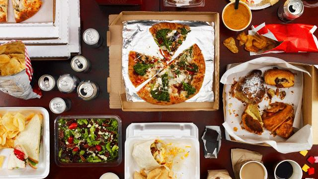 A new study says that the average Millennial eats out five times a week, 14% more than Baby Boomers.