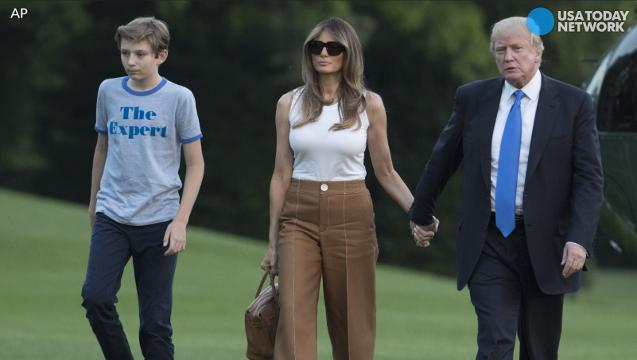 Barron Trump S Expert T Shirt Is Sold Out