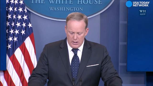 White House press secretary Sean Spicer said American's cannot afford to foot the bill for Obamacare any longer.