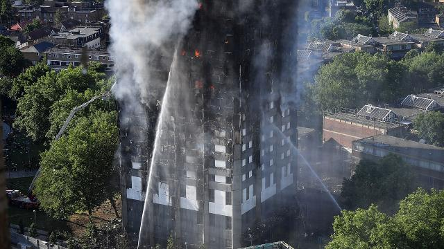 Death toll climbs in London Grenfell Tower apartment fire