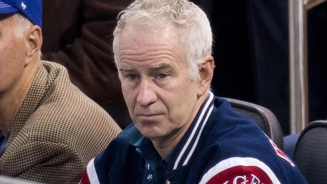John McEnroe says that if Serena Williams played on the men's tour that she would be ranked far below than what she is now.