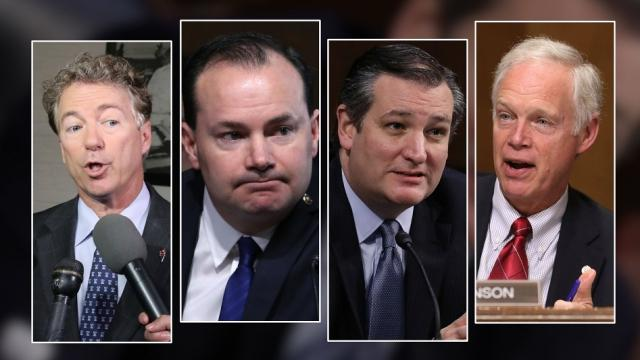 The Senate Republicans' health care bill unveiled Thursday gained several vocal critics — Republican senators — within hours. Video provided by Newsy