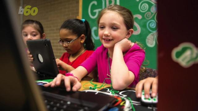 Girl Scouts as young as 5 are hitting the computers.