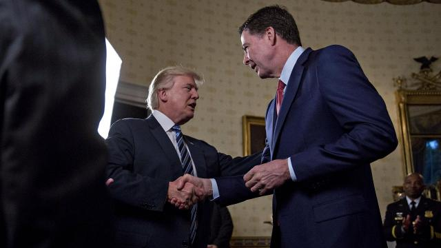 The president told 'Fox & Friends' he thinks former FBI Director James Comey changed his story on the Russia probe after the tweet came out.