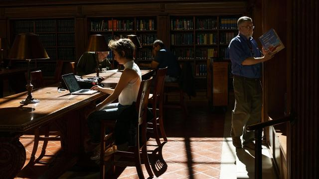 Millennials are more likely to head to the library than other adults