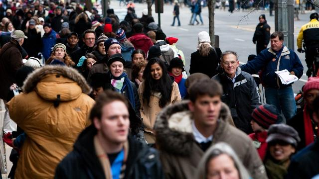 New data from the U.S. Census Bureau shows an increase in median age, as well as growth in all racial and ethnic demographics. Video provided by Newsy