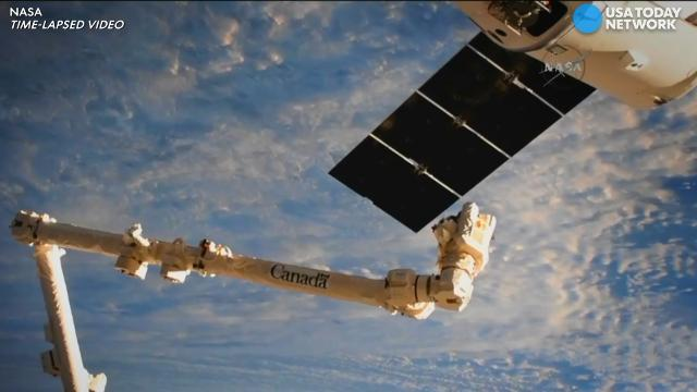 Live stream: Astronauts on ISS rendezvous with Dragon on SpaceX resupply mission