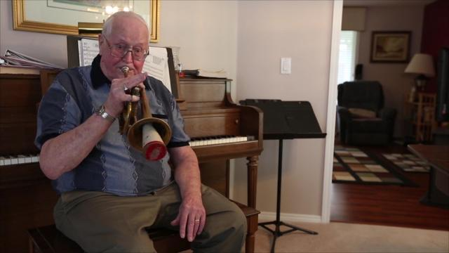 Prized trumpet is buried in friend's casket by mistake