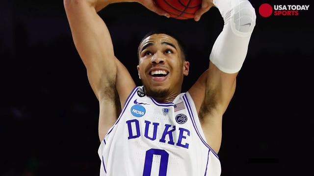 While still in high school, USA TODAY Sports spoke to Jayson Tatum about plans he has to be involved in the community once he makes it to the NBA.