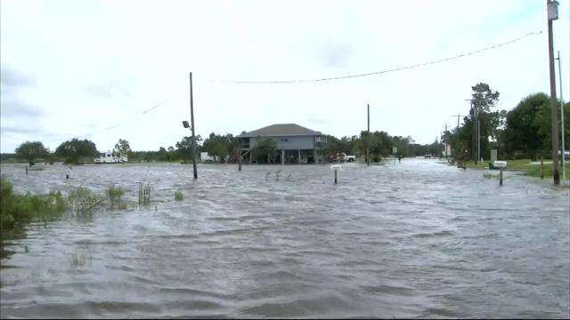 Louisiana's governor urged residents not to drop their guard despite Tropical Storm Cindy being downgraded to a tropical depression. (June 22)