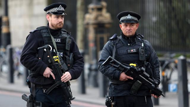 Police chiefs in Great Britain will discuss arming more of their officers in response to a string of recent terrorist attacks. Video provided by Newsy